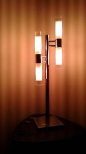 lamp stainless shaded glass modern styling Quindalup Busselton Area Preview