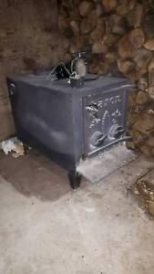 Poêle à bois avec ventilateur