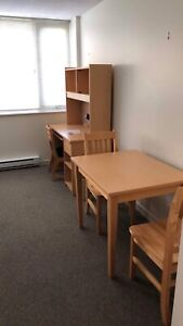 University residence Studio type available July and Aug