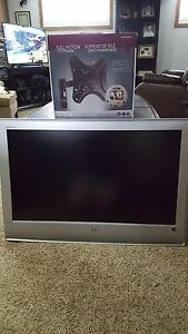"Sony 38"" TV with swivel wall mount $175"
