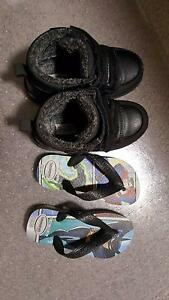 Little Boys / Toddler shoes - Havaianas and boots Strathfield Strathfield Area Preview