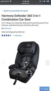Harmony 3 -1 car seat for sale