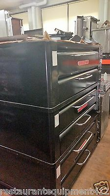 Single Blodgett 961 Deck Pizza Oven- Stackable