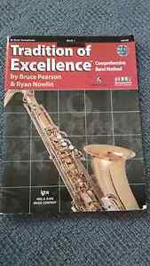 TENOR SAXOPHONE TRADITION OF EXCELLENCE BOOK Manly West Brisbane South East Preview