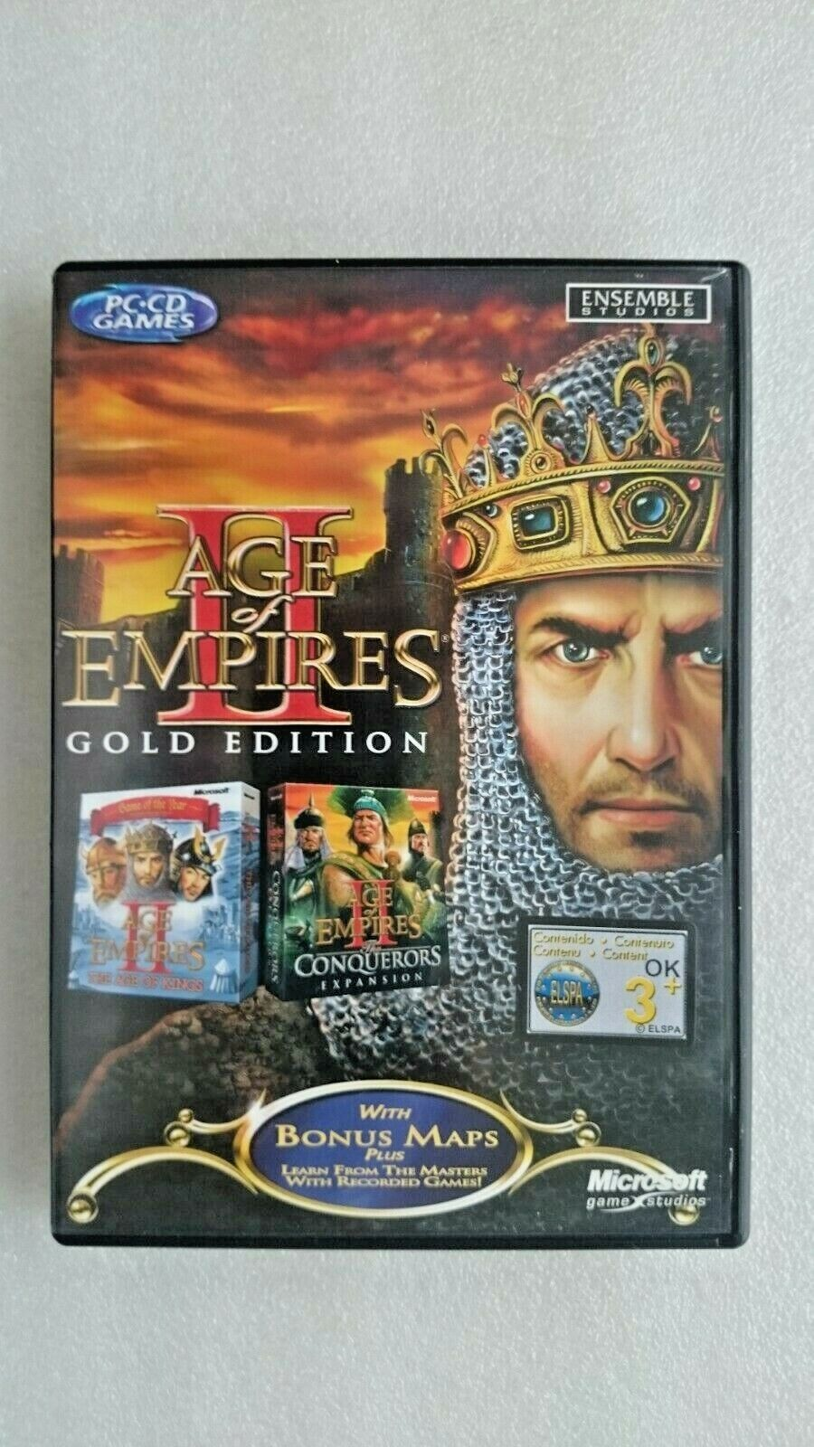 Age of Empires Gold Edition 2 (PC, Windows 2002)