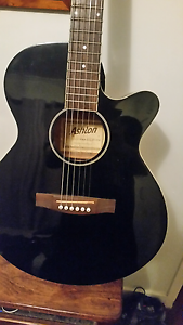 Acoustic guitar ASHTON  CUTAWAY VERSION Stafford Heights Brisbane North West Preview
