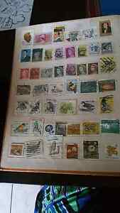 Stamp collection 2 albums. Vintage. Ipswich Ipswich City Preview