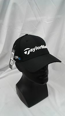 New Taylormade Golf 2014 Tour Cage Black Fitted Hat L/XL SLDRs Logo