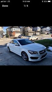 2014 Mercedes CLA 250, AMG Appearance Pkg, 4-Matic (AWD)