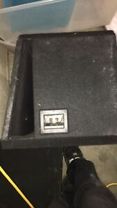 "12"" MTX Sub in a band pass box"