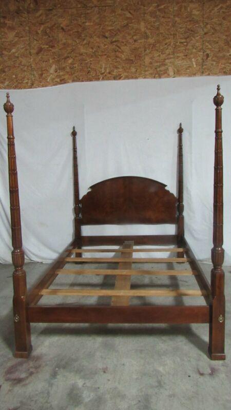 Drexel Queen Poster Bed Devonshire Bedroom Set Mahogany