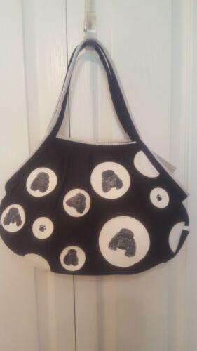 POODLE ~Hand Painted ~ Handbag Purse