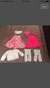 6 month summer dresses & cardigan
