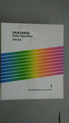 Pantone Color Specifier 747xr Volume 1 Refillable Hardcover Binder