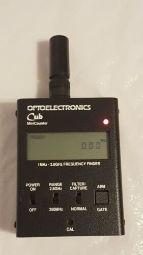 Optoelectronics Cub Minicounter Frequency Finder Scanner