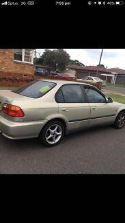 Honda Civic 2000 Punchbowl Canterbury Area Preview