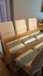 Freedom Glass Table & Chairs Walkley Heights Salisbury Area Preview
