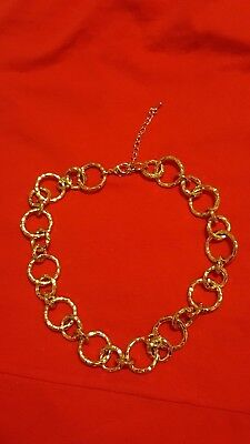 Beauticontrol Jewerly Golden Symmetry Necklace Color Gold New In Box ()