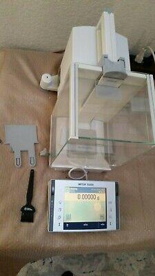 Mettler Toledo Xp105dr Semi-micro Balance Scale 31g0.01mg 120g0.1mg W Adapter