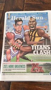 2013 Herald Sun Grand Final Souvenir Edition Newspapers South Bunbury Bunbury Area Preview