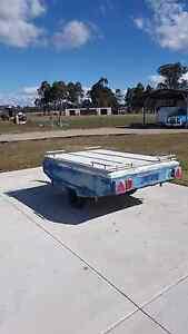 Foldup hard floor camper trailer Katoomba Blue Mountains Preview