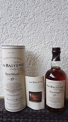 ***THE BALVENIE 17 Jahre New Wood 0,7l 40 %Vol.***