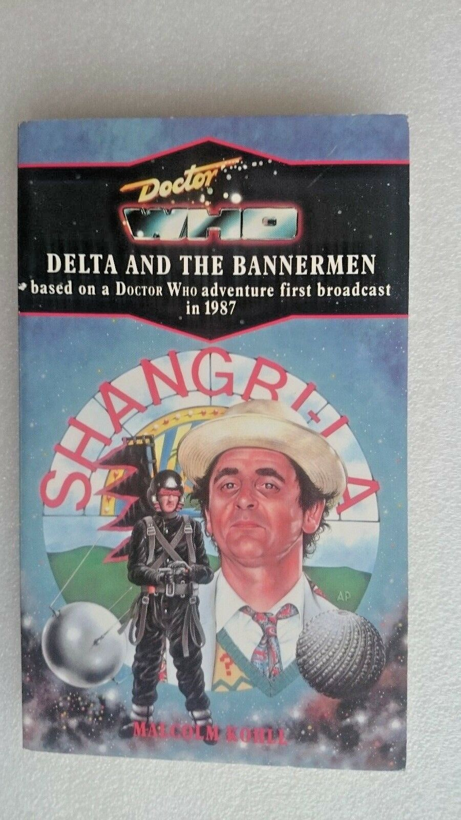 Doctor Who-Delta and the Bannerman by Malcolm Kohll (Paperback, 1991)