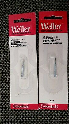 2 Pcs Weller Mp133 Soldering Tip