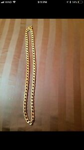 Gold chain 108grams/21K/60cm/24in  LIKE NEW