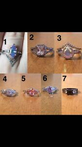 Charmed Aroma rings Size 7