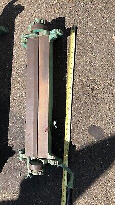 21 Bar Folder Pexto Peck Stow Wilcox Ac Sheet Metal Brake Niagara Diarco