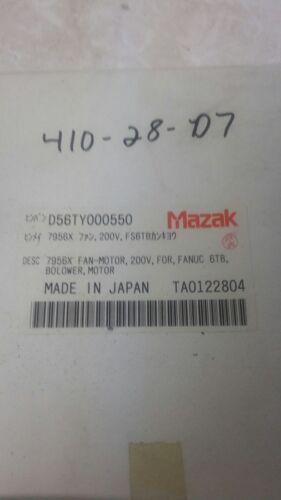 MAZAK D56TY000550 FAN-MOTOR