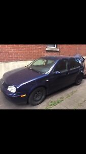 Volkswagen Golf 1.8T 2001 manual
