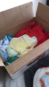 Baby clothes mostly up to 3m, som 3-6.