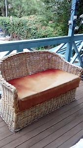 Cane 3 piece lounge Macgregor Belconnen Area Preview
