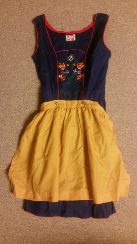 Authentic German Dirndl Vintage- Early 1970