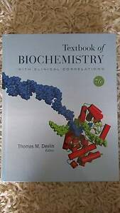 Biochemistry Textbook With Clinical Correlations Sandy Bay Hobart City Preview