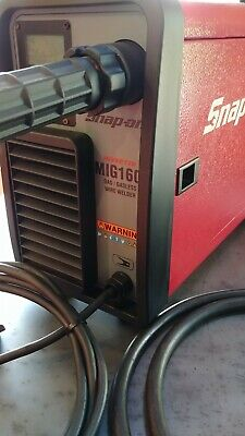 Snapon Tools Mig160i Inverter Wire Welder Gas Gasless