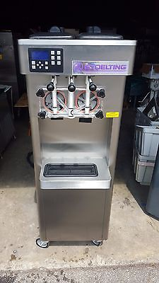 2013 Stoelting F231 Soft Serve Frozen Yogurt Ice Cream Machine Warranty 3ph H2o