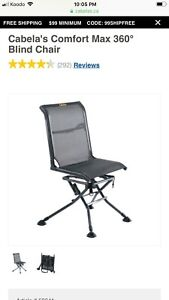 Cabelas 360 Blind chair