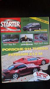 STARTER-MOTOR-MAGAZINE-Febbraio-1996-n-2-pagine-106-Perfetto-Edicola