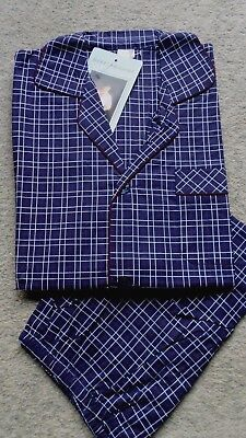 Herren Schlafanzug kurz Campingschlafanzug Thieme gewebt Baumwolle Gr.56 NEU (1) - Baumwolle Gewebte Pyjama-set