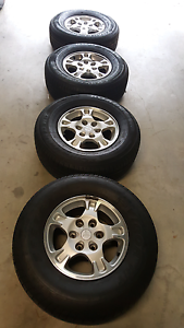 NM Pajero Factory Alloys and Tyres Clifton Hill Yarra Area Preview