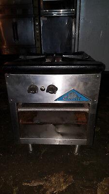 Comstock Castle Csp-18 Single Stock Pot Stove Cooking Range 110000 Btu Quality