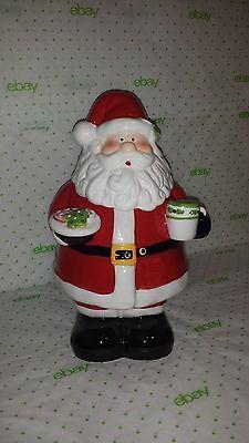Cookie Jar SANTA CLAUS Collectors Edition Cookie Jar Signed Cheryl's Santa