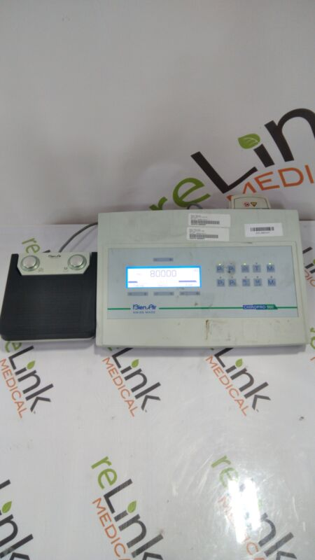 Bien Air Chiropro 980 Dental Surgical Electric Control Console & Motor System