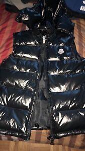 Black Moncler Vest