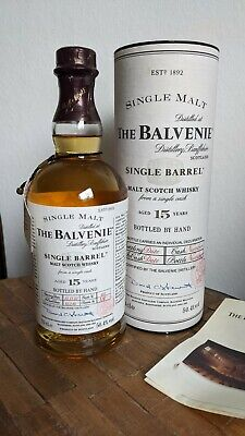 Balvenie 15y Single Malt / Single Barrel (1985-2002), Bottle No. 28, 50,4%, 70cl
