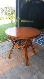 Round Cane Table Beaconsfield Fremantle Area Preview