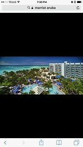 4 nights five days at the Marriott in Aruba